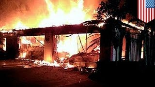 4 трупа -- результат взрыва и пожара в доме Джеймса Блейка
