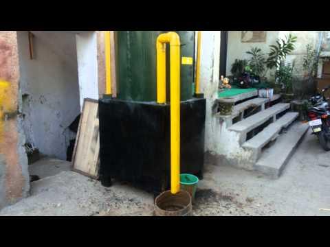 Portable Biogas Plant  ( Small Bio Gas Digester )