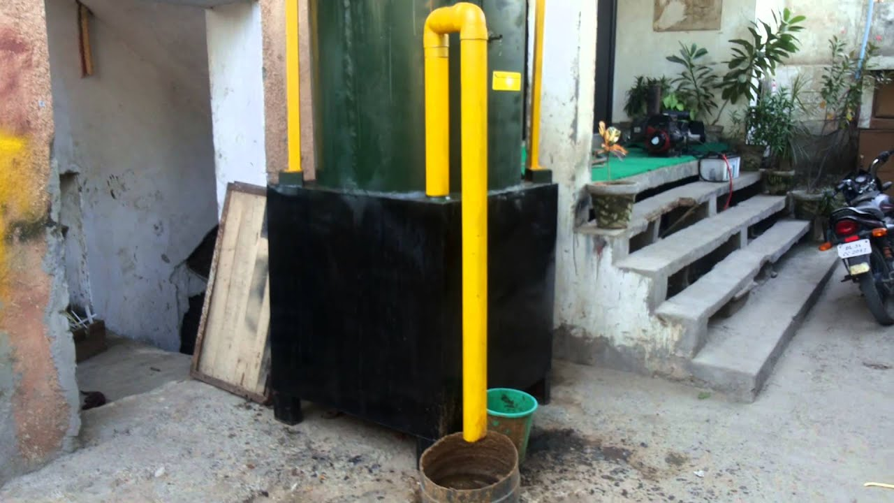 Mini Biogas Plant At Home Lark Blog Plan Or Gobar Gasplant Diagram Urdu Download