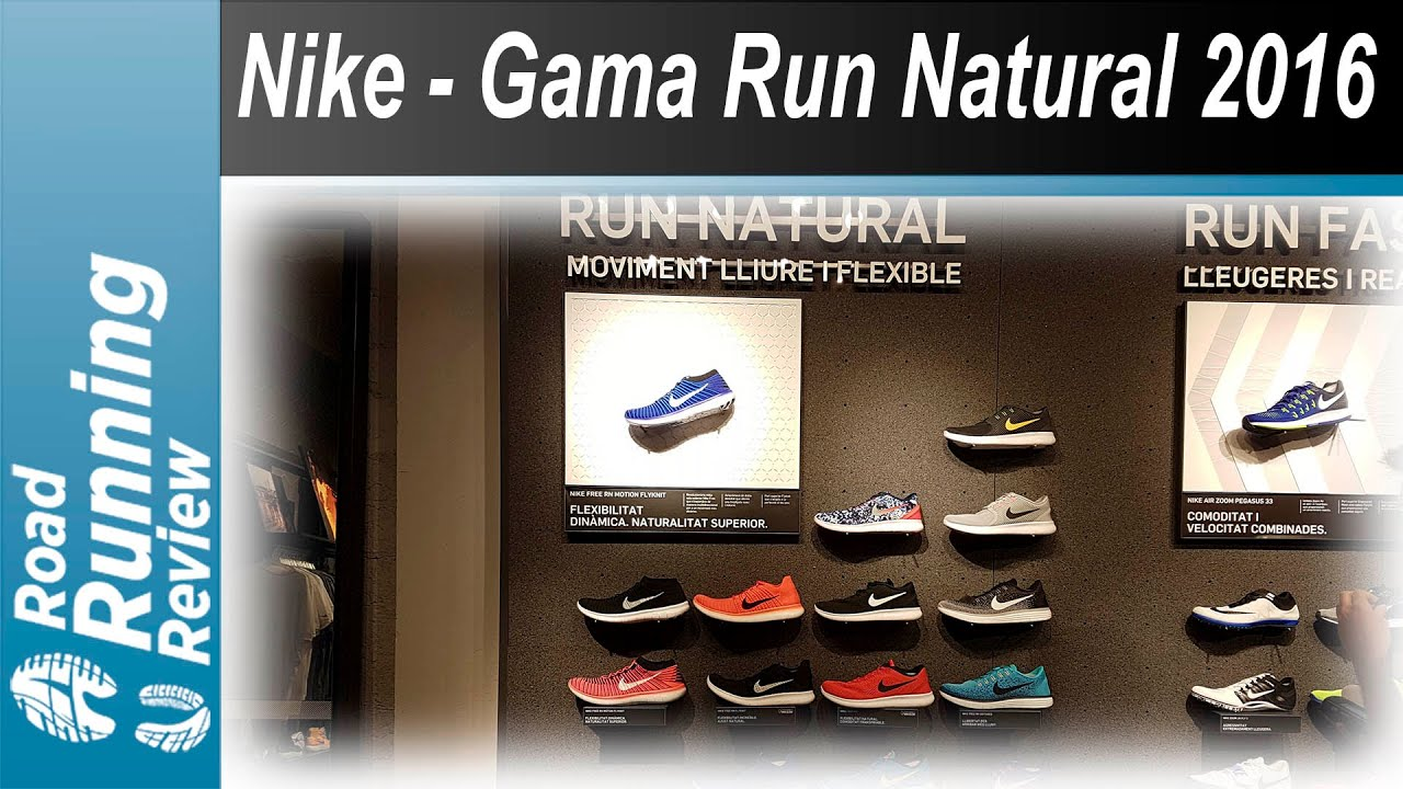 cd8ef2764af4 Nike - Gama Run Natural 2016 - YouTube