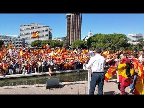 El valiente discurso de Santiago Abascal en Colón contra el golpismo separatista