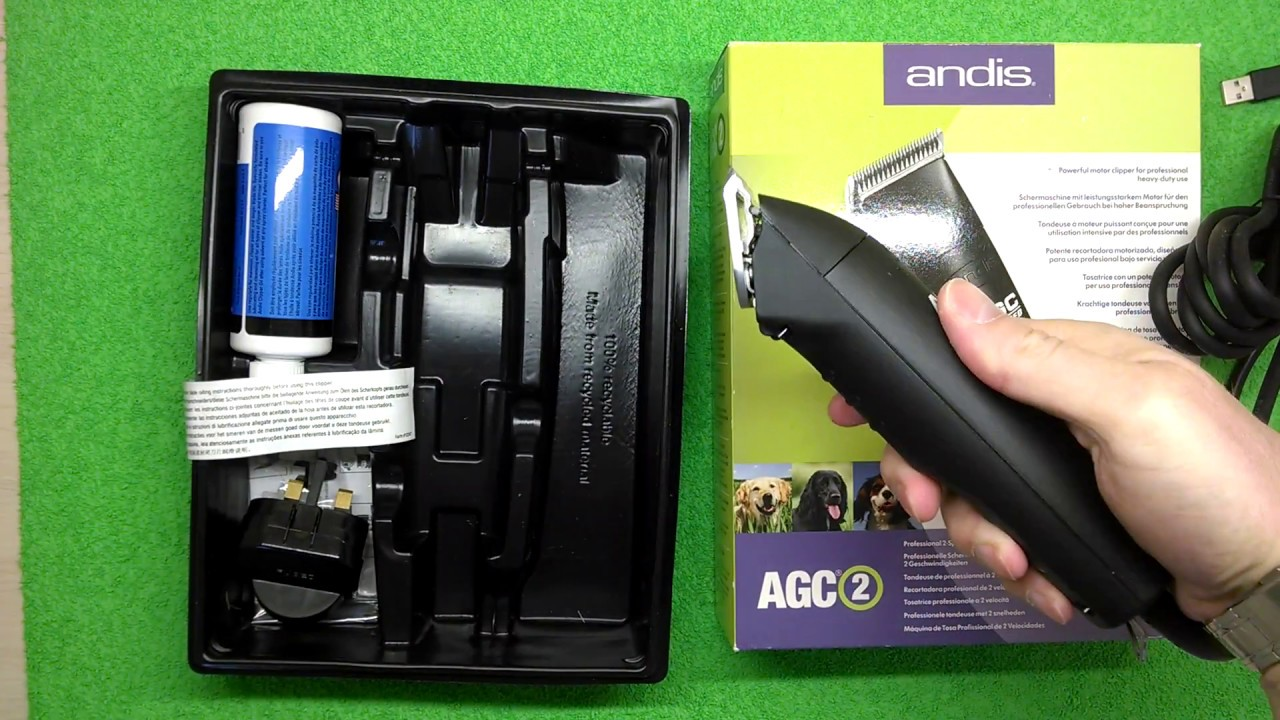 Andis proclip agc super 2-speed detachable blade clipper, professional. That other clippers, this could be the last dog clipper set you ever need to buy.