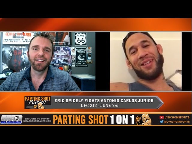 """UFC 212's Eric Spicely """"I want to get a knockout victory over Antônio Carlos Júnior"""""""