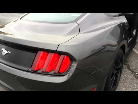 2016 Ford Mustang EcoBoost Premium. C12170 Green Ford in Greensboro, NC 27407