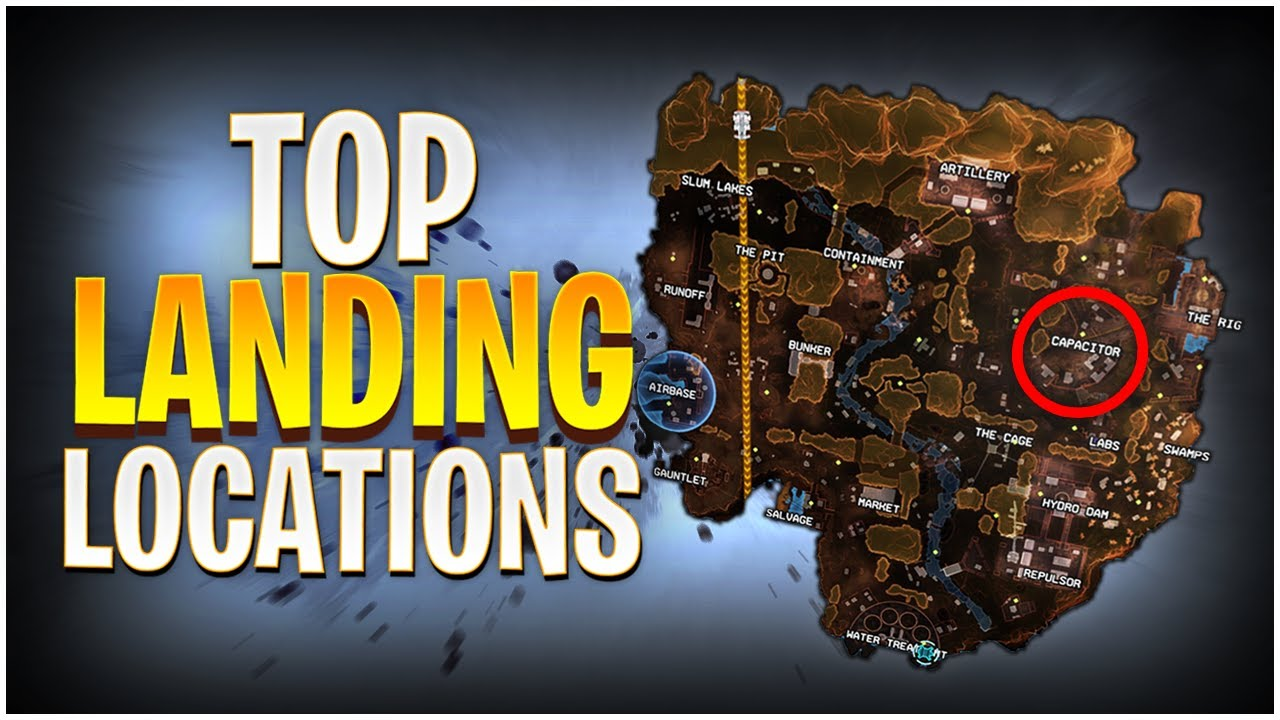 Top Landing Locations for Ranked in Kings Canyon Season 6! (Apex Legends)