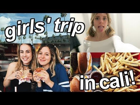 Girls' Trip in California!! | Food, Shopping + Fun!!