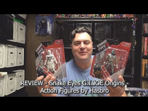 REVIEW - Snake Eyes G.I.JOE Origins - Action Figures by Hasbro