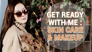Fall Get Ready With Me : Skin Care & Makeup
