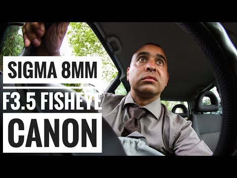 Sigma 8mm F/3.5 Circular Fisheye EX DG For Canon