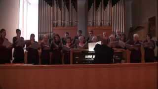 Bach St. John Passion * János Passió záró kórus (Nyugodj)  * Organ, I. Oláh *  2012 03 18 (02)