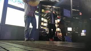 20190216大宮路上Snowflake佐賀県出身の二人組、なかなかええ歌声