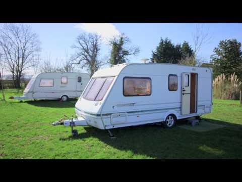 Caravan Hire - Cheltenham Racecourse, Cotswolds Accommodation