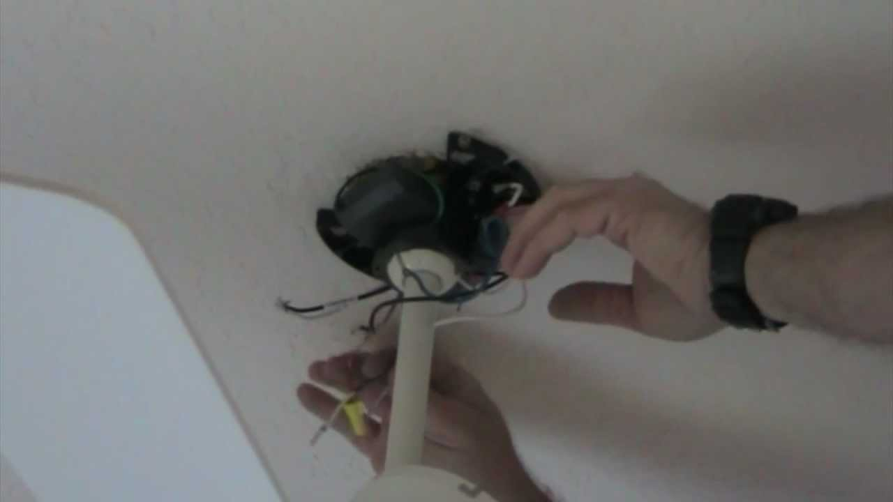 how to install a remote in a ceiling fan [ 1280 x 720 Pixel ]