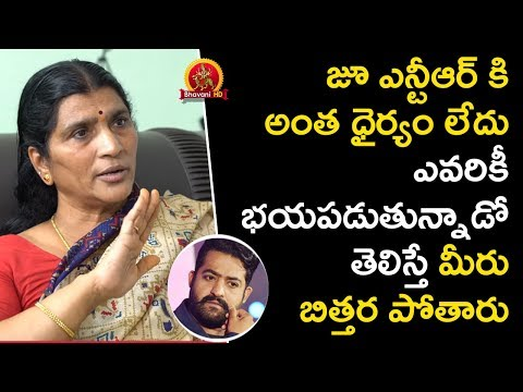 Jr NTR Dont Have Guts To Face - Lakshmi Parvathi Exclusive Interview- Swetha Reddy