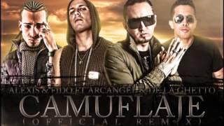 Download Camuflaje Remix - Alexis y Fido Feat Arcangel y De La Ghetto