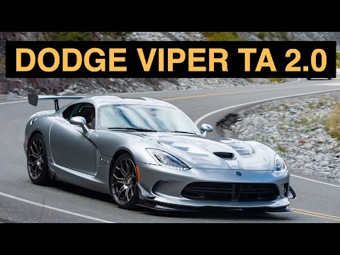 2015 Dodge Viper TA 2.0 - Review & Test Drive