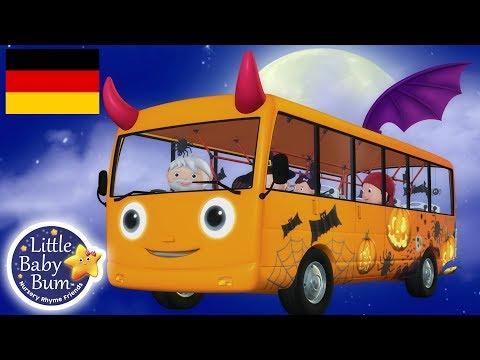 Die Räder vom Bus Halloween | Kinderlieder | Little Baby Bum Deutsch | Kinderreime Für Kinder