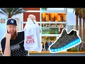 ADIDAS NMD MALL VLOG PICKUP!!! THEY TRIED SELLING US FAKE YEEZYS!!!