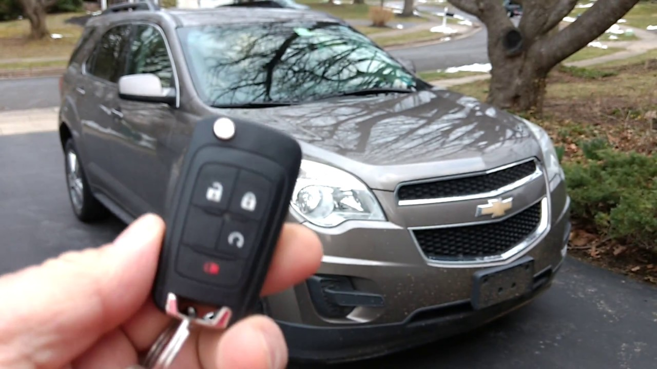 hight resolution of 2012 chevy equinox how to use remote start