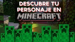 ¿Qué personaje de Minecraft eres? | Test Divertidos