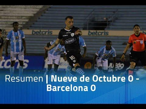 Resumen: 9 de Octubre 0 - Barcelona 1