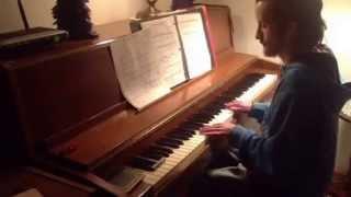 Icona pop all night(piano cover)