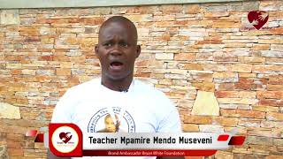 Teacher Mpamire's Message as Bryan White Foundation Ambassador
