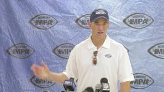 Eli Manning shares thoughts about his brother's retirement