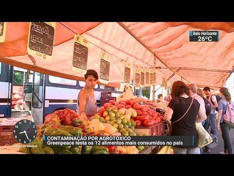 ONG encontra resíduos de agrotóxicos em amostras de alimentos | SBT Brasil (31/10/17)