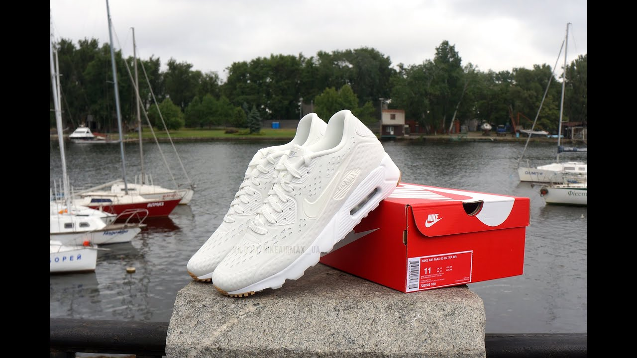 newest d1b7f 03e04 Nike Air Max 90 Ultra Breathe White Gum