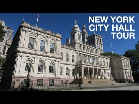EXCLUSIVE NYC City Hall Tour | Open House New York, OHNY