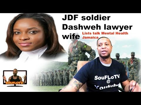 Jamaican JDF soldier and lawyer wife what Jamaica must know