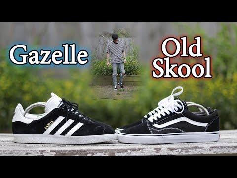 Vans Old Skool vs Adidas Gazelle