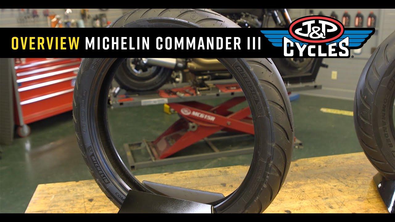 140//75R-17 MICHELIN Commander III Cruiser Front Tire