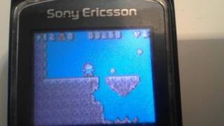 Deep Abyss gameplay on Sony Ericsson t290i mophun game  101x80 screen