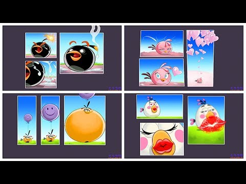 Angry Birds Go - All Bosses - All Birds Final Races - From Bomb To Chuck