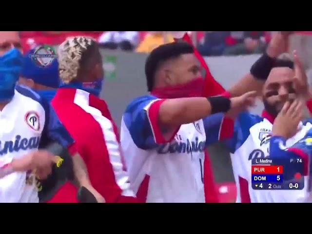 Jugadas destacadas: Criollos de Caguas vs Águilas Cibaeñas - Serie del Caribe 2021