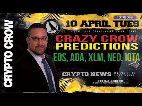 Crazy Crow Prediction: EOS, ADA, XLM, NEO, IOTA 🚀