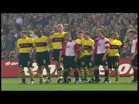 Pierre van Hooijdonk scoort in UEFA Cup finale Feyenoord – Borussia Dortmund - YouTube