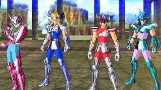 Os Cavaleiros do Zodíaco Alma dos Soldados: Primeira Gameplay no PS4