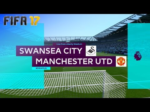 FIFA 17 - Swansea City vs. Manchester United @ Liberty Stadium ('17/'18)