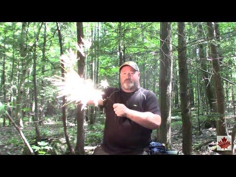 Testing a Great quality ferro rod