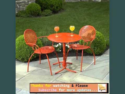 Garden Furniture Ideas | Outdoor Furniture Orange Romance