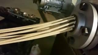 Pasta making machine video/pasta production line video