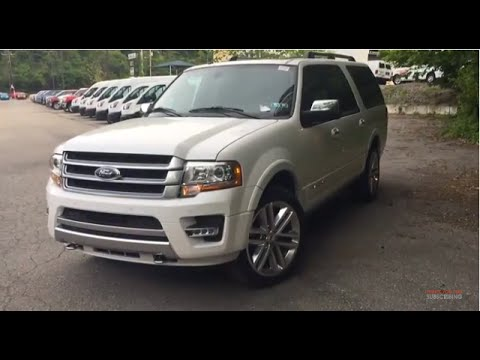 2015 ford expedition platinum - review and test drive - youtube