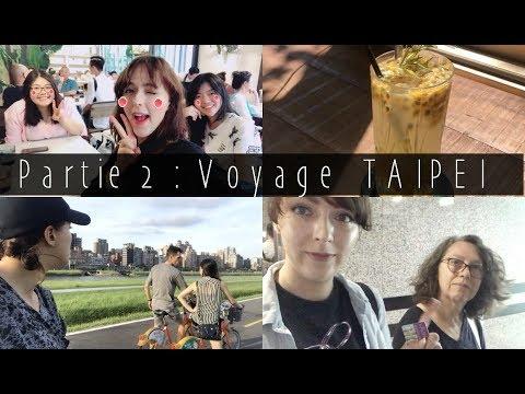 Partie 2 Compil Vlog à Taipei : Au revoir maman ! La vie d'étudiante !