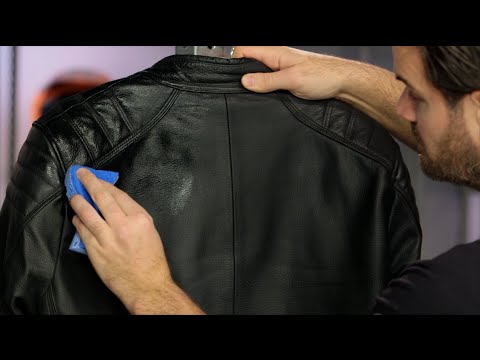 How To Clean & Maintain Your Leather Motorcycle Gear at RevZilla.com