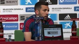 """Mondial/Espagne: """"Les sensations sont positives"""", assure Alba"""