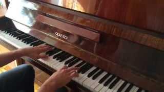"""песня из фильмы """"Сумерки"""" на фортепиано ( River flows in you  piano)"""