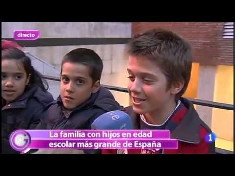 Familia Postigo - Más Gente TV1 (marzo 2013)